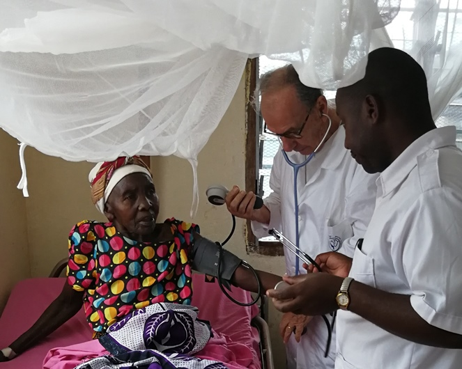visita medica a Msange